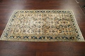 Pre-1900 Antique Vegetable Dye Sultanabad Persian Area Rug 4x7 image 16