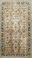 Pre-1900 Antique Vegetable Dye Sultanabad Persian Area Rug 4x7 image 1