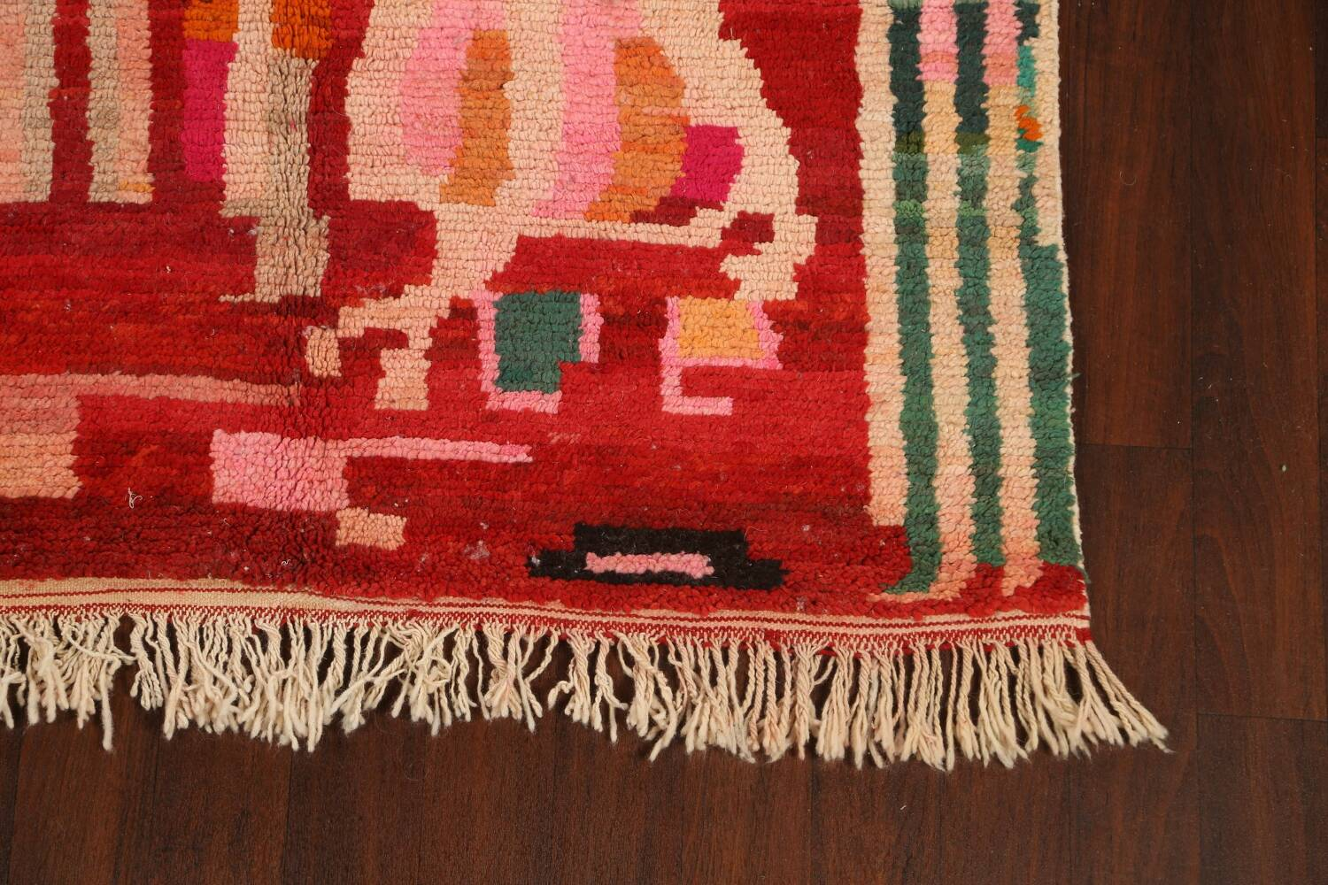 Abstract Modern Moroccan Oriental Area Rug 5x8 image 5