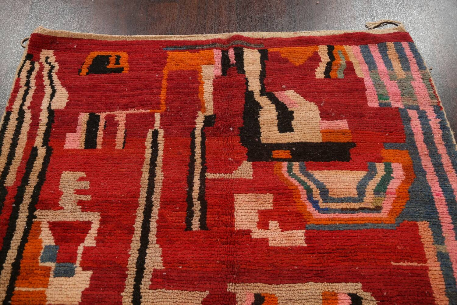 Abstract Modern Moroccan Oriental Area Rug 5x8 image 11
