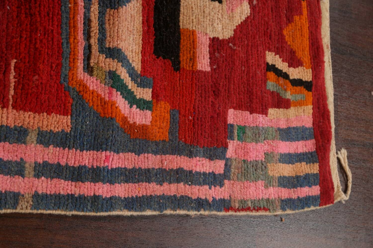Abstract Modern Moroccan Oriental Area Rug 5x8 image 12