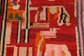 Abstract Modern Moroccan Oriental Area Rug 5x8 image 4