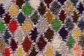 All-Over Checkered Moroccan Oriental Runner Rug 3x9 image 4