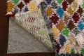All-Over Checkered Moroccan Oriental Runner Rug 3x9 image 7