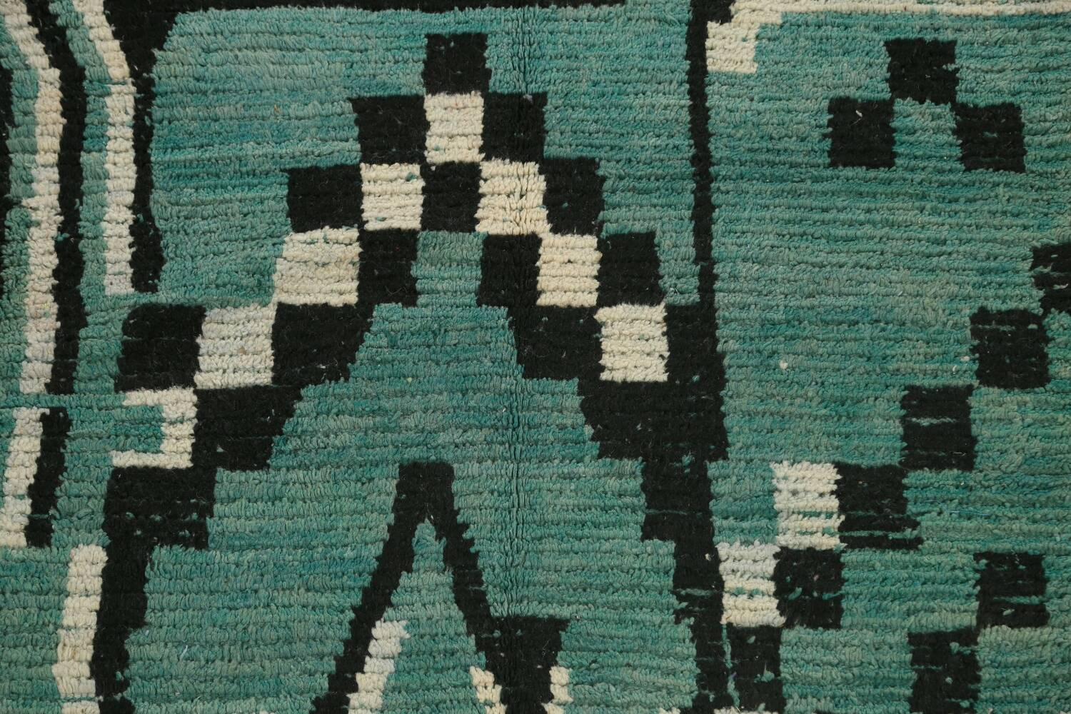 Tribal Moroccan Oriental Area Rug 5x8 image 4