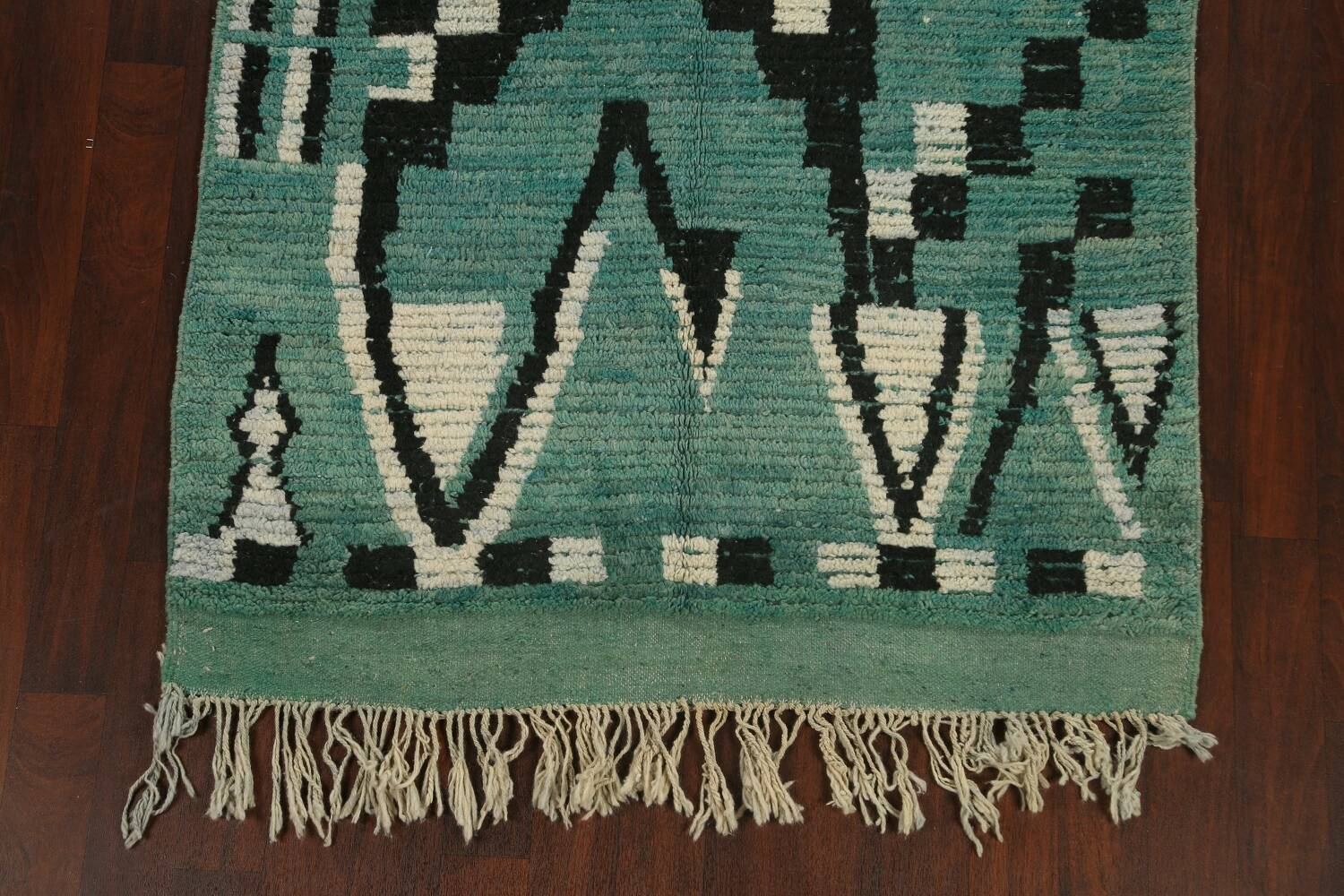 Tribal Moroccan Oriental Area Rug 5x8 image 8