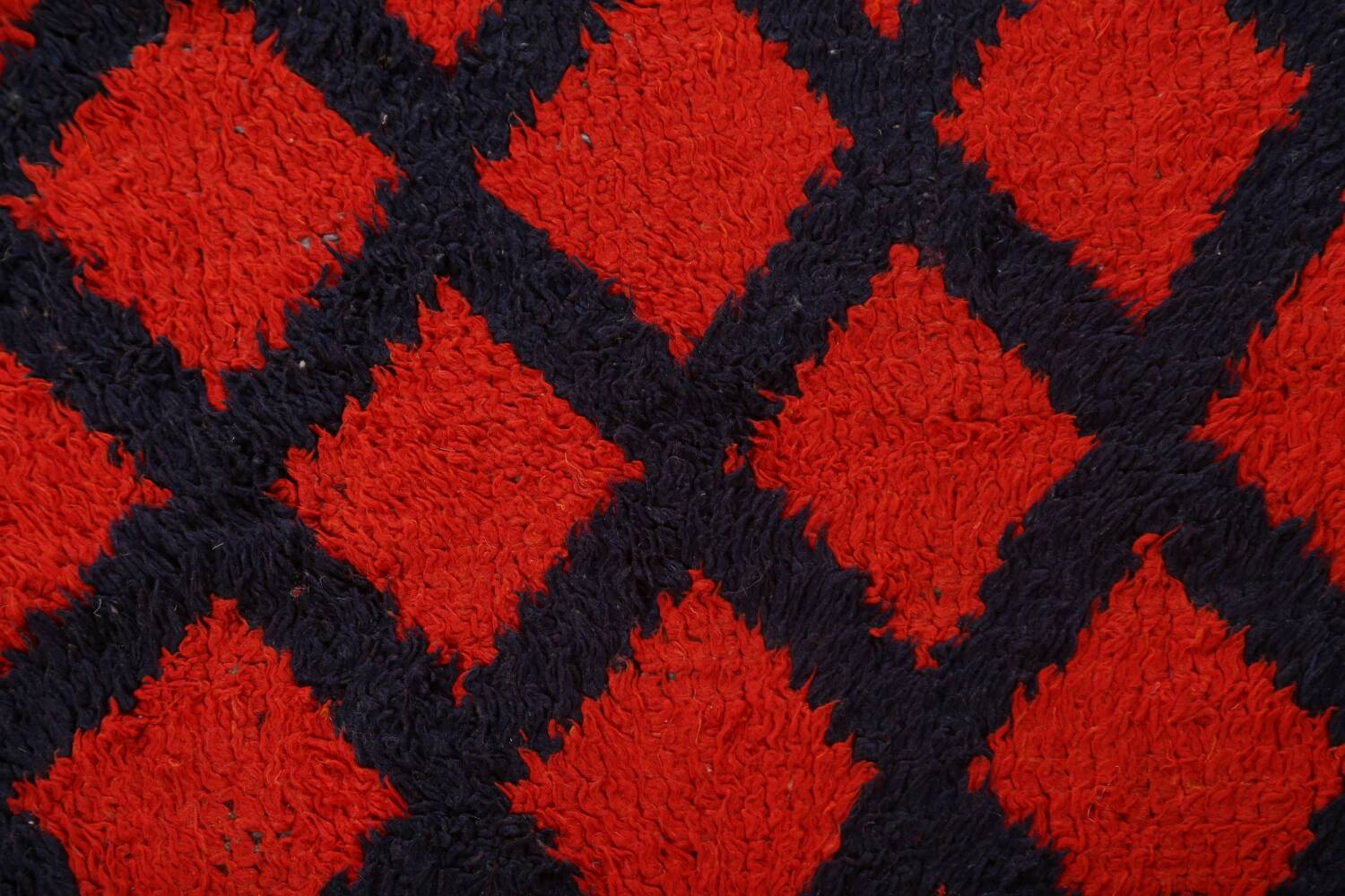 Checkered Tribal Moroccan Oriental Area Rug 3x6 image 10