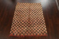 Checkered Tribal Moroccan Oriental Area Rug 4x6 image 14