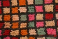 All-Over Checkered Moroccan Oriental Runner Rug 2x10 image 12