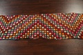 All-Over Checkered Moroccan Oriental Runner Rug 2x10 image 16