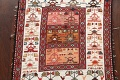 Tribal Sumak Persian Area Rug 2x3 image 3