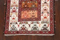 Tribal Sumak Persian Area Rug 2x3 image 8