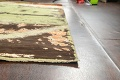 Contemporary Abstract Oriental Area Rug 9x12 image 6