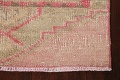 Muted Geometric Oushak Oriental Runner Rug 3x13 image 5
