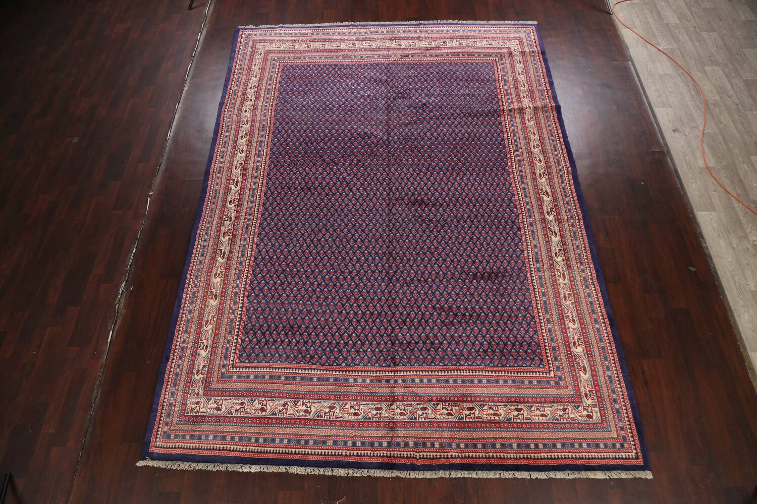 All-Over Boteh Botemir Persian Area Rug 9x12 image 2