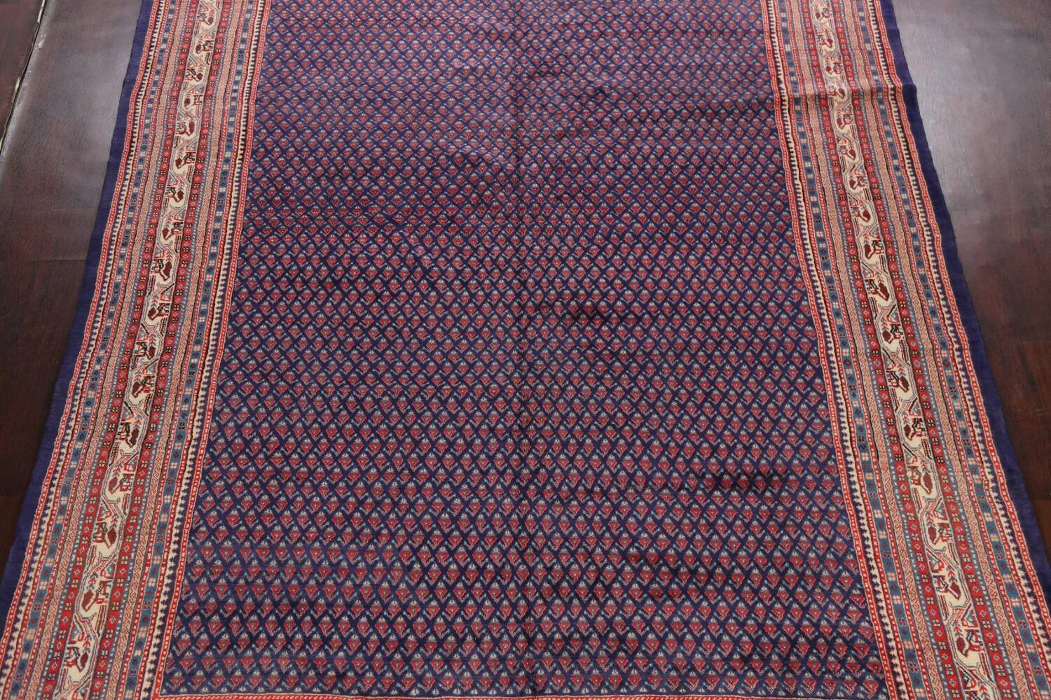 All-Over Boteh Botemir Persian Area Rug 9x12 image 3