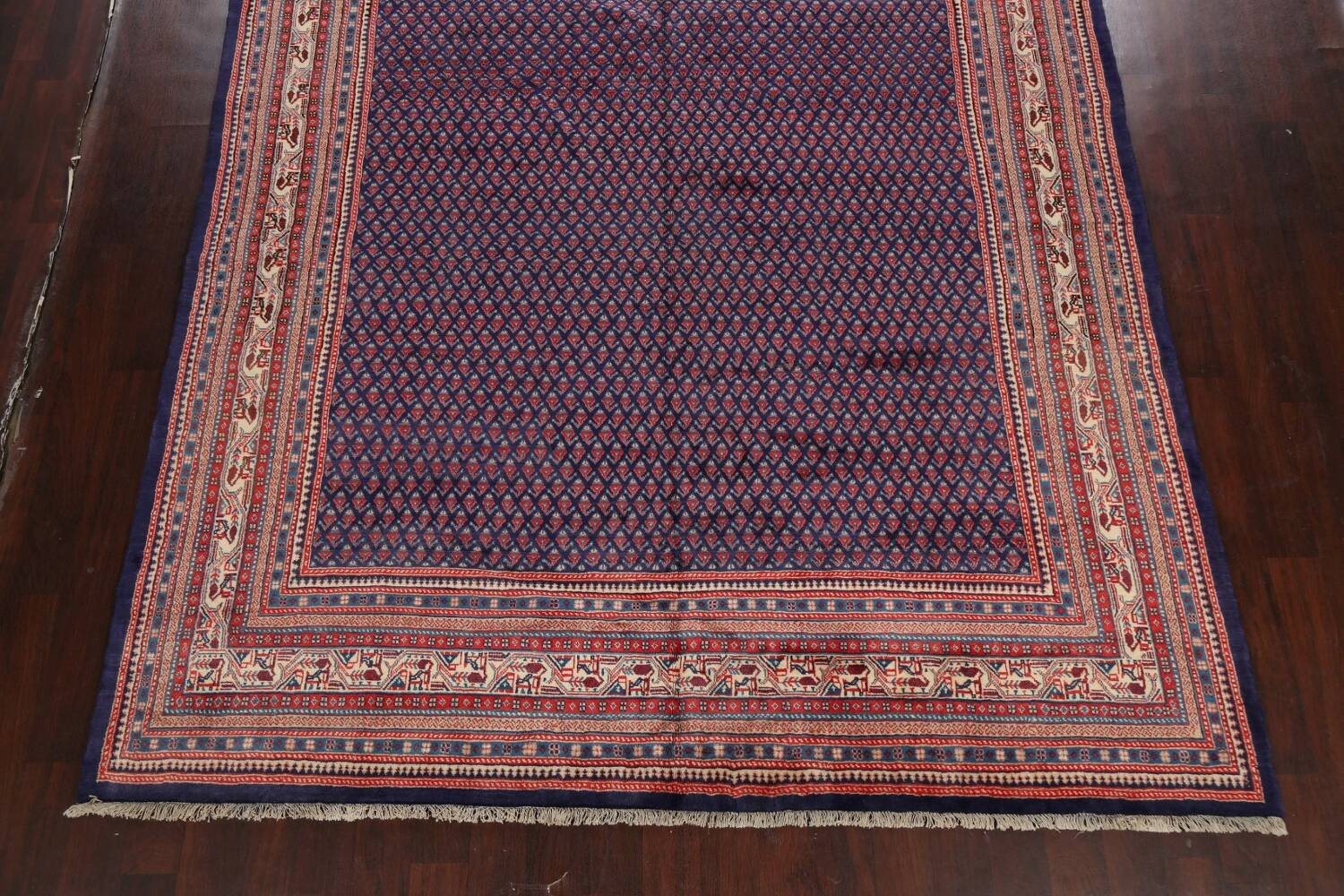 All-Over Boteh Botemir Persian Area Rug 9x12 image 8