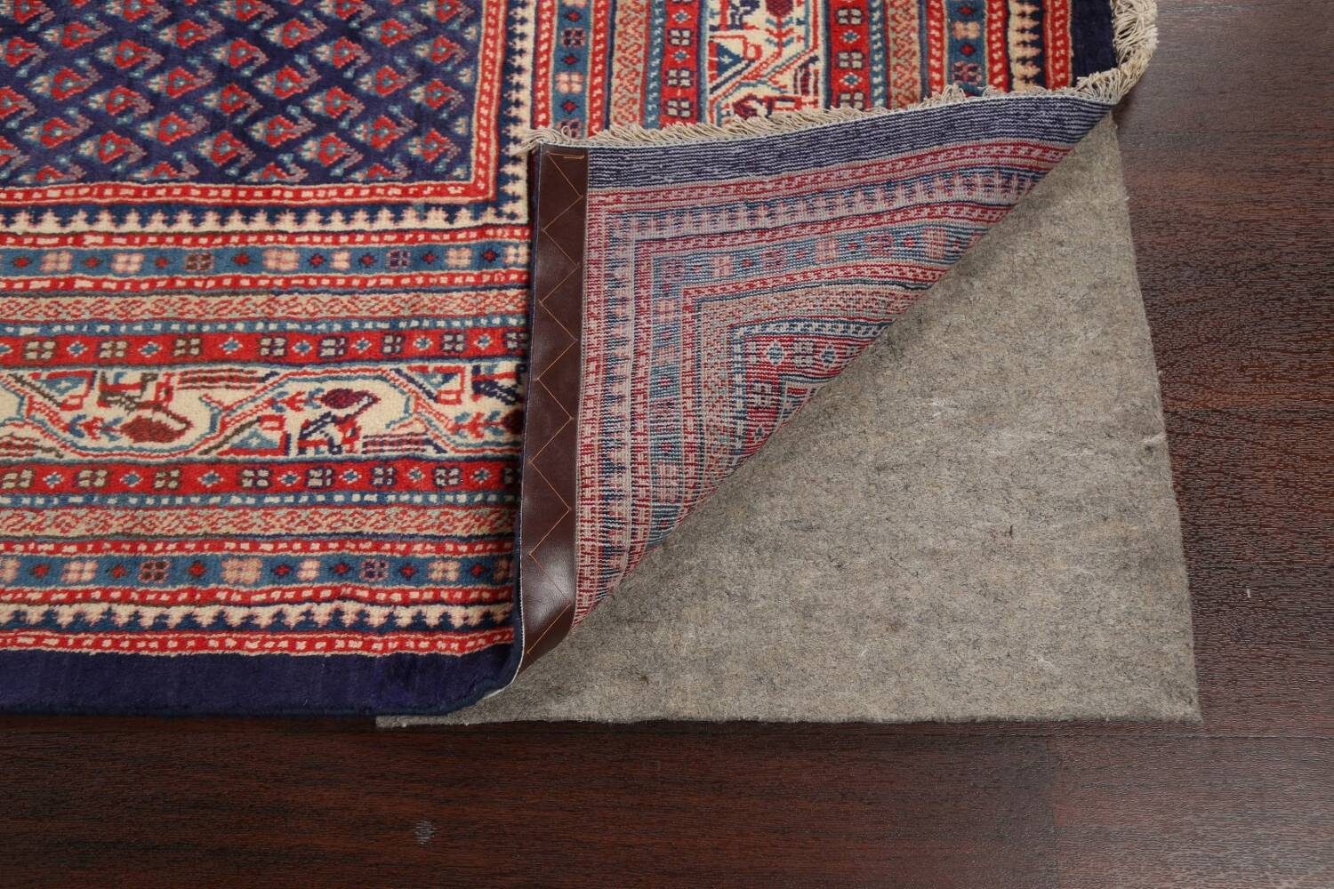 All-Over Boteh Botemir Persian Area Rug 9x12 image 7