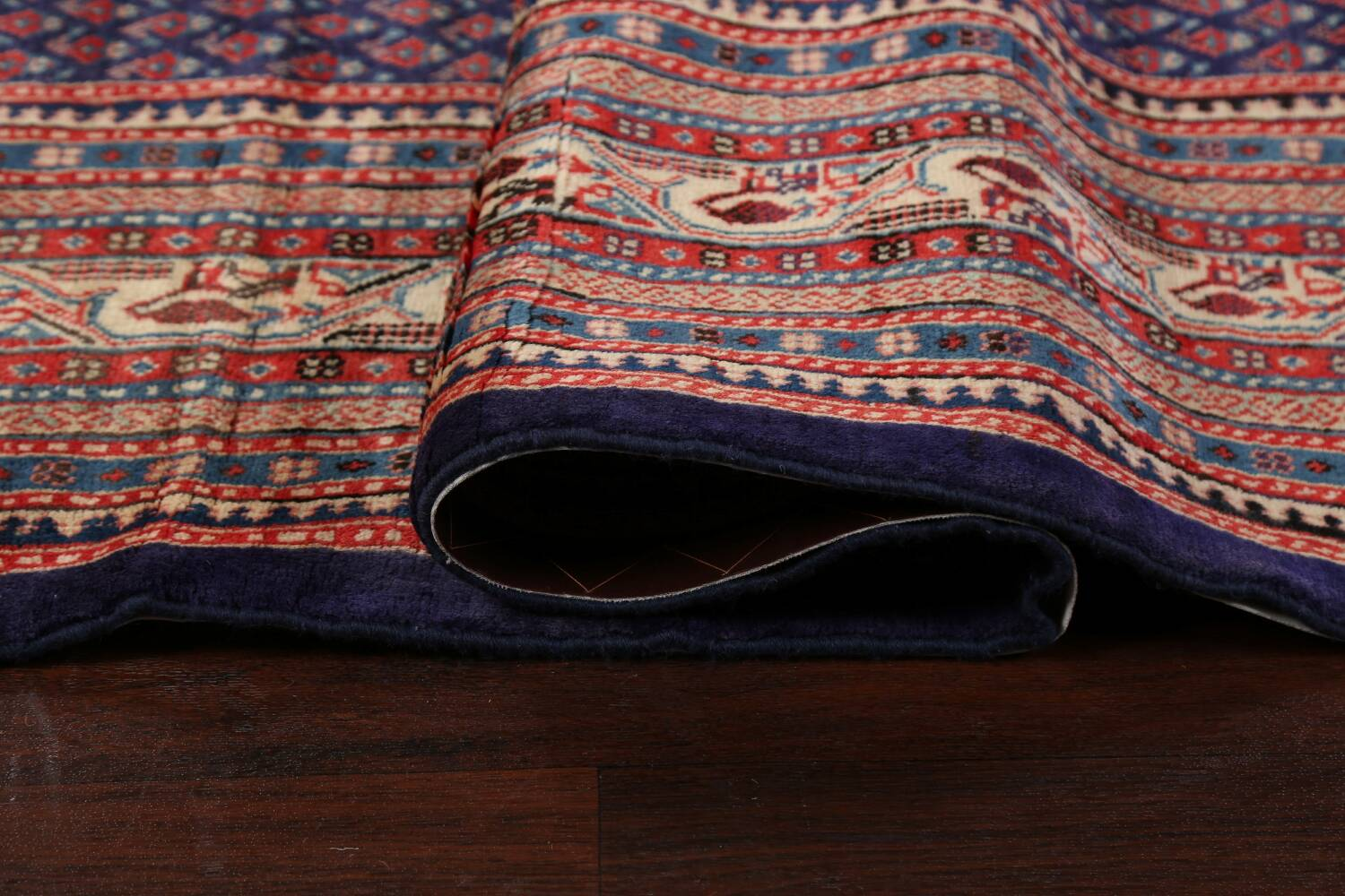 All-Over Boteh Botemir Persian Area Rug 9x12 image 12
