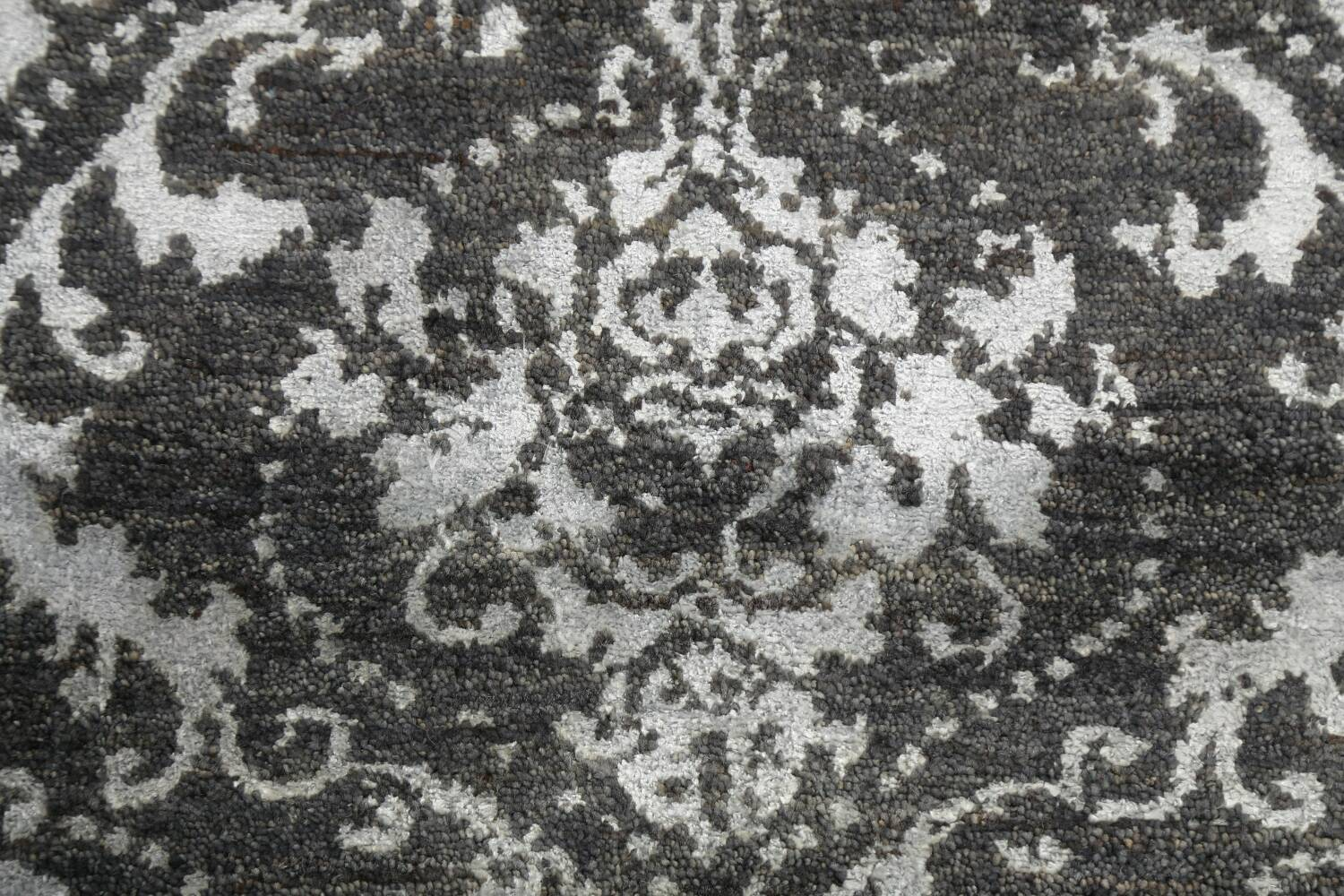 Vegetable Dye Distressed Abstract Oriental Area Rug 6x9 image 9