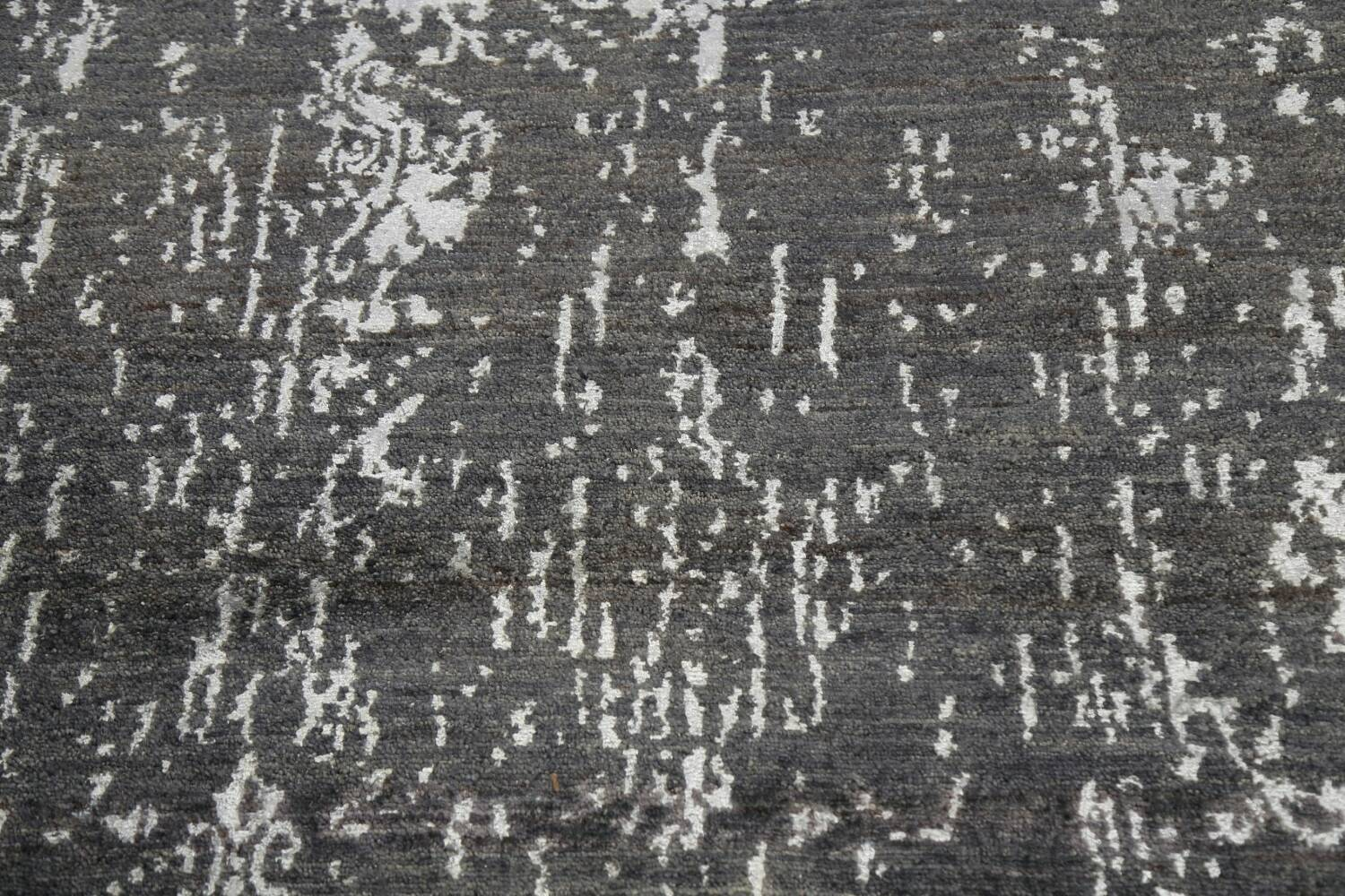 Vegetable Dye Distressed Abstract Oriental Area Rug 6x9 image 10