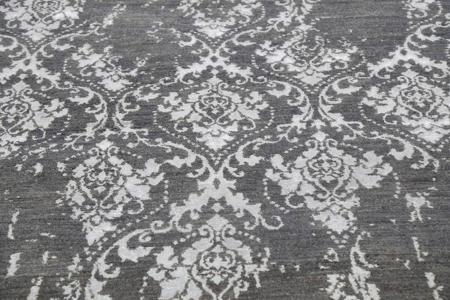 Vegetable Dye Distressed Abstract Oriental Area Rug 6x9 image 11