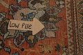Pre-1900 Antique Vegetable Dye Sultanabad Persian Area Rug 9x12 image 13