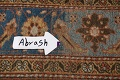 Pre-1900 Antique Vegetable Dye Sultanabad Persian Area Rug 9x12 image 15