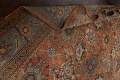 Pre-1900 Antique Vegetable Dye Sultanabad Persian Area Rug 9x12 image 24