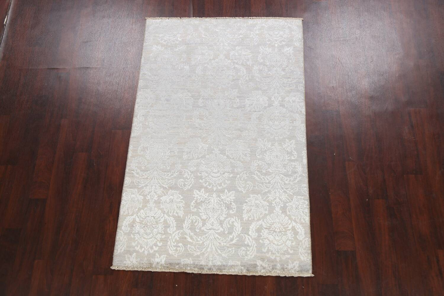 Vegetable Dye All-Over Abstract Oriental Area Rug 4x6 image 2
