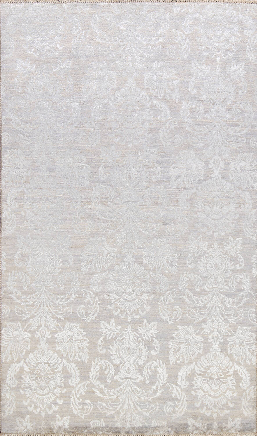 Vegetable Dye All-Over Abstract Oriental Area Rug 4x6 image 1