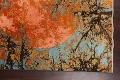 Vegetable Dye Contemporary Abstract Oriental Area Rug 4x6 image 11
