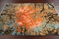 Vegetable Dye Contemporary Abstract Oriental Area Rug 4x6 image 12