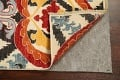 All-Over Floral IKats Oriental Runner Rug 3x8 image 7