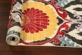 All-Over Floral IKats Oriental Runner Rug 3x8 image 16