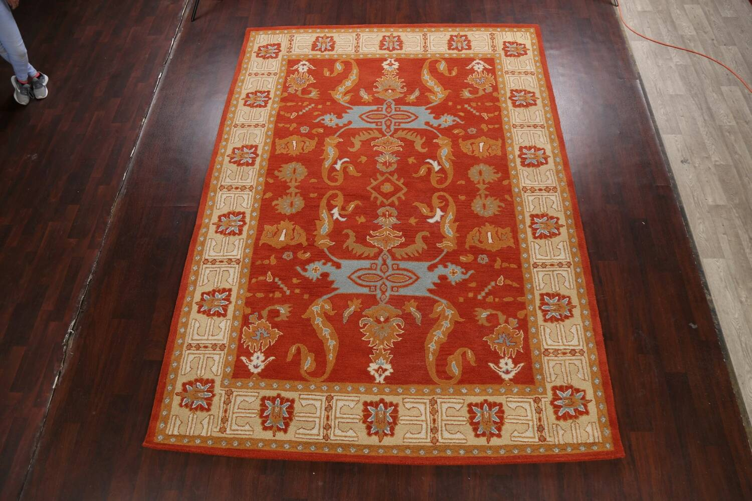Floral Area Rug 8x11 image 2