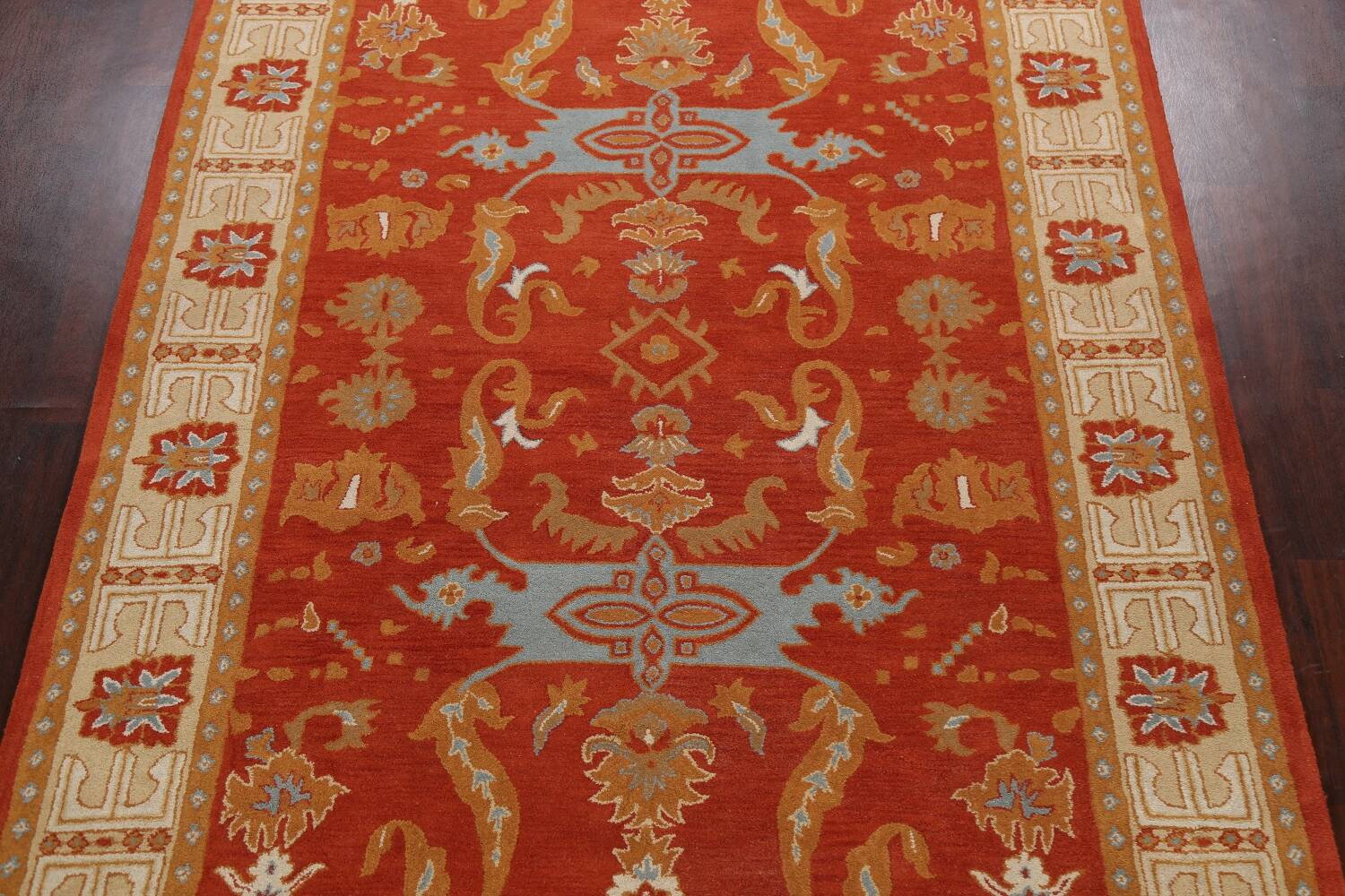 Floral Area Rug 8x11 image 3