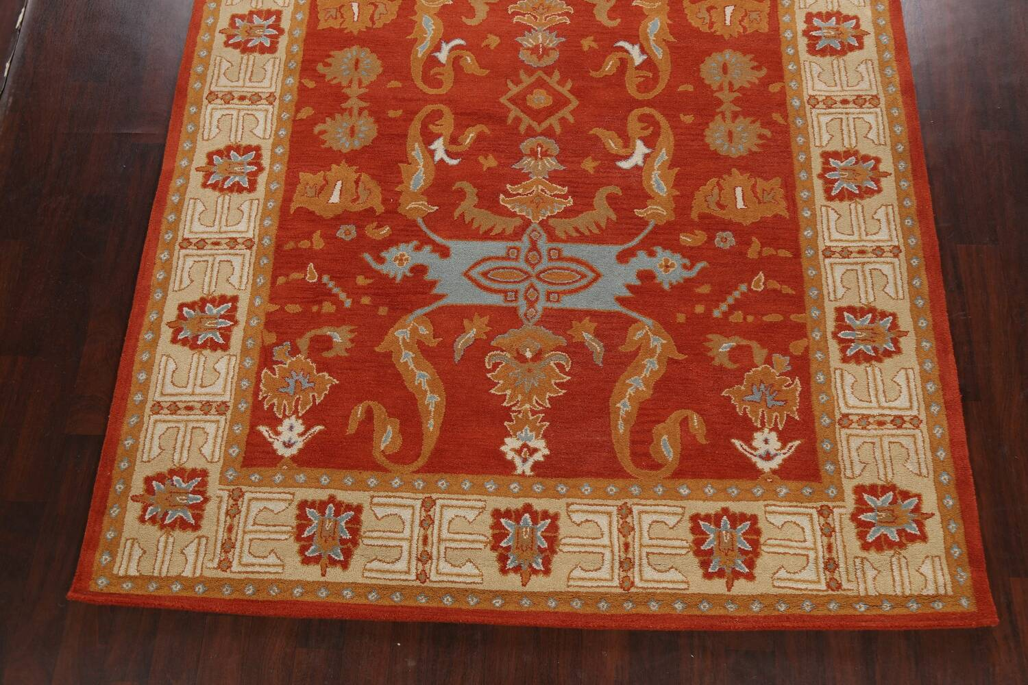 Floral Area Rug 8x11 image 5