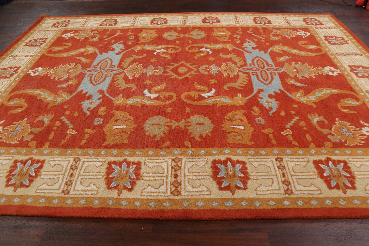Floral Area Rug 8x11 image 11