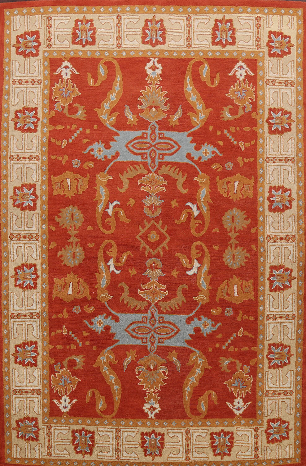 Floral Area Rug 8x11 image 1
