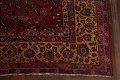 Pre-1900 Antique Vegetable Dye Sarouk Persian Area Rug 11x15 image 5