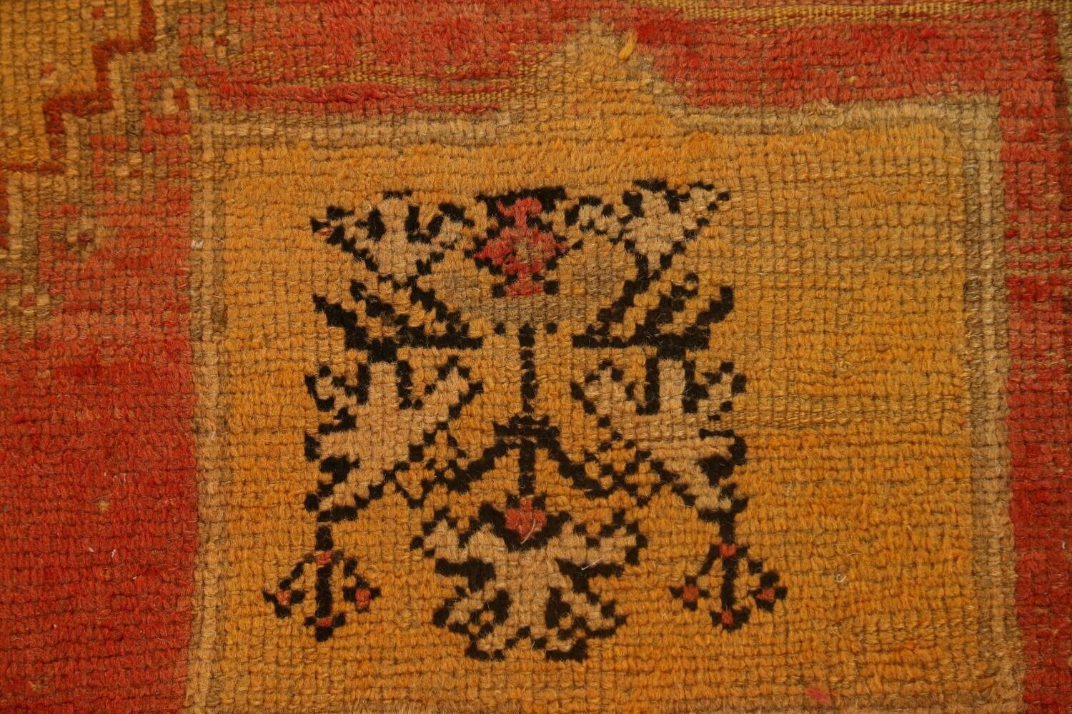 Antique Tribal Moroccan Oriental Runner Rug 6x14 image 10