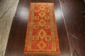 Antique Tribal Moroccan Oriental Runner Rug 6x14 image 2