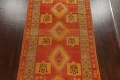 Antique Tribal Moroccan Oriental Runner Rug 6x14 image 3
