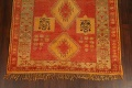 Antique Tribal Moroccan Oriental Runner Rug 6x14 image 8