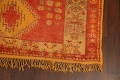 Antique Tribal Moroccan Oriental Runner Rug 6x14 image 5