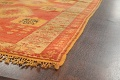 Antique Tribal Moroccan Oriental Runner Rug 6x14 image 6
