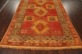 Antique Tribal Moroccan Oriental Runner Rug 6x14 image 12