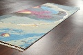 Artistic Contemporary Abstract Oriental Runner Rug 3x9 image 6