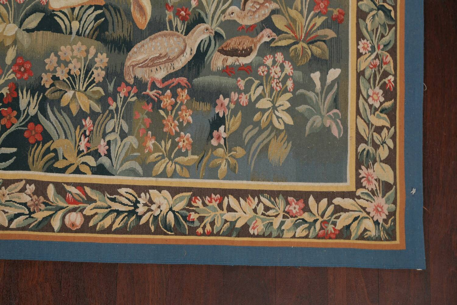 All-Over Pictorial Tapestries Oriental Area Rug 6x8 image 5